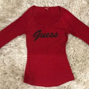 Guess thermal top